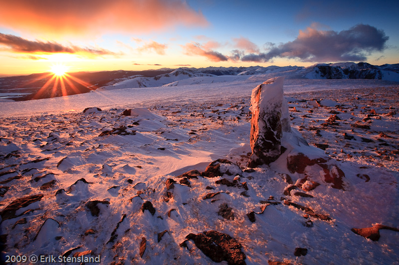 Feb. Tundra Sunset