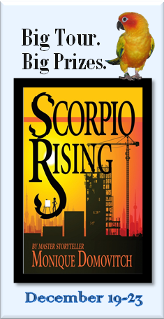 Scorpio Tour Badge