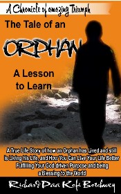 Tale Of An Orphan Book Cover