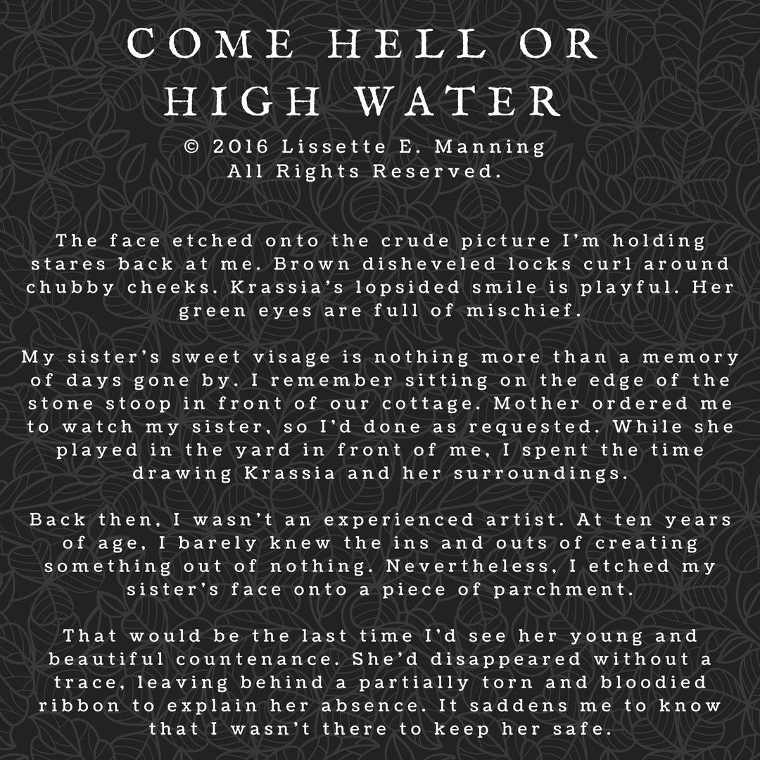 Come Hell Or High Water Excerpt