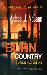 BURN COUNTRY front cover