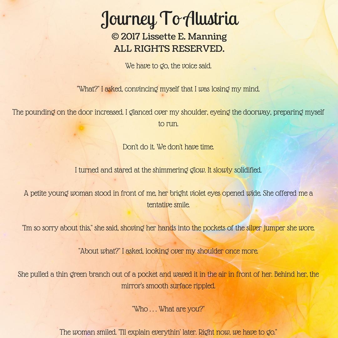 Journey To Alustria Excerpt 1